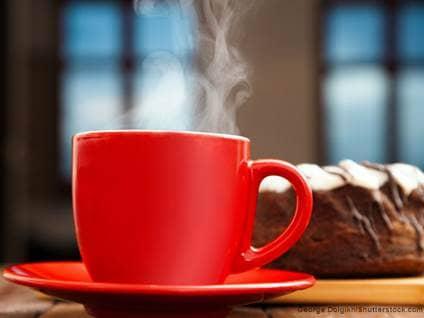 Hot Tea Rum Cake