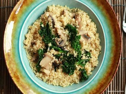 Quinoa veg dish