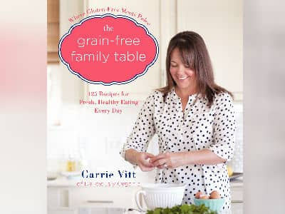 The Grain Free Table Book Cover