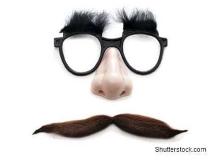 Funny Moustache Face
