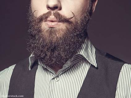 Man with beard and moustache