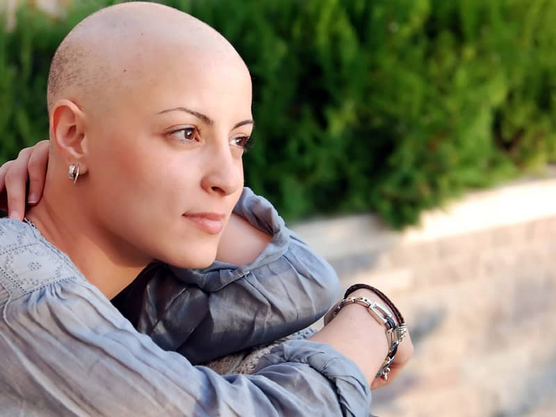 Young Woman With Cancer