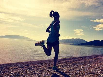Running Lady