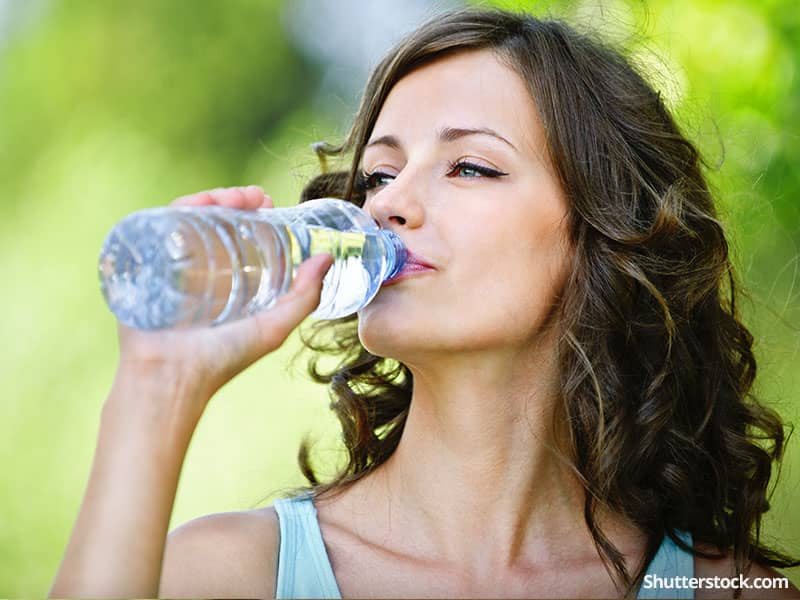 woman-healthy-water-outside