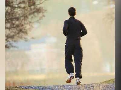 Jogging Outside