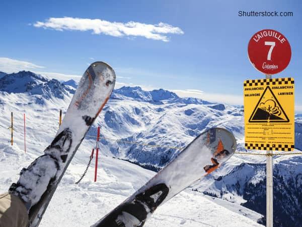 Man on Skiis