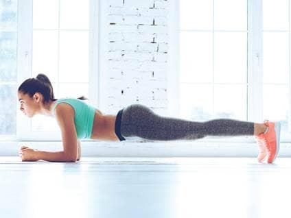fitness plank