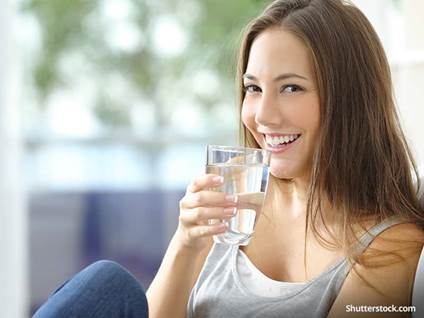 health-woman-water-happy-drinking