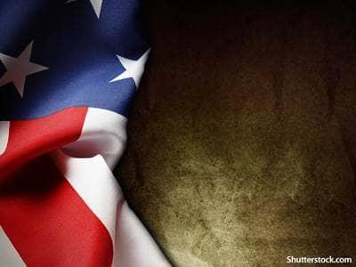 patriotic american flag