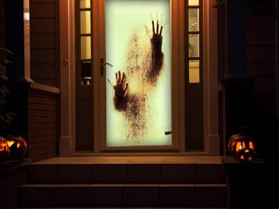 Scary Window Projection