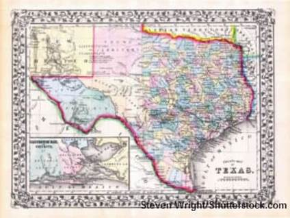 Texas Map Steven Wright