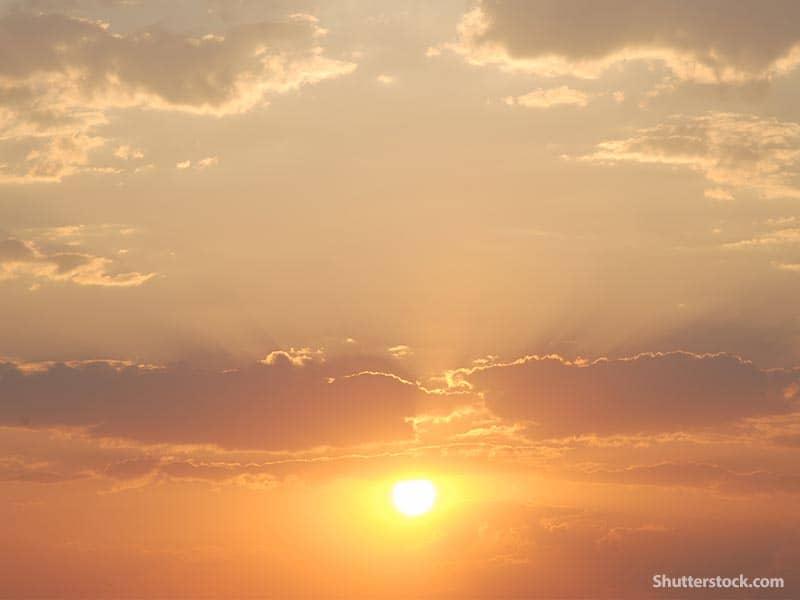 nature clouds sun