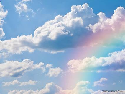 nature rainbow clouds
