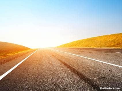 nature sunset highway