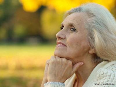 People elder thinking