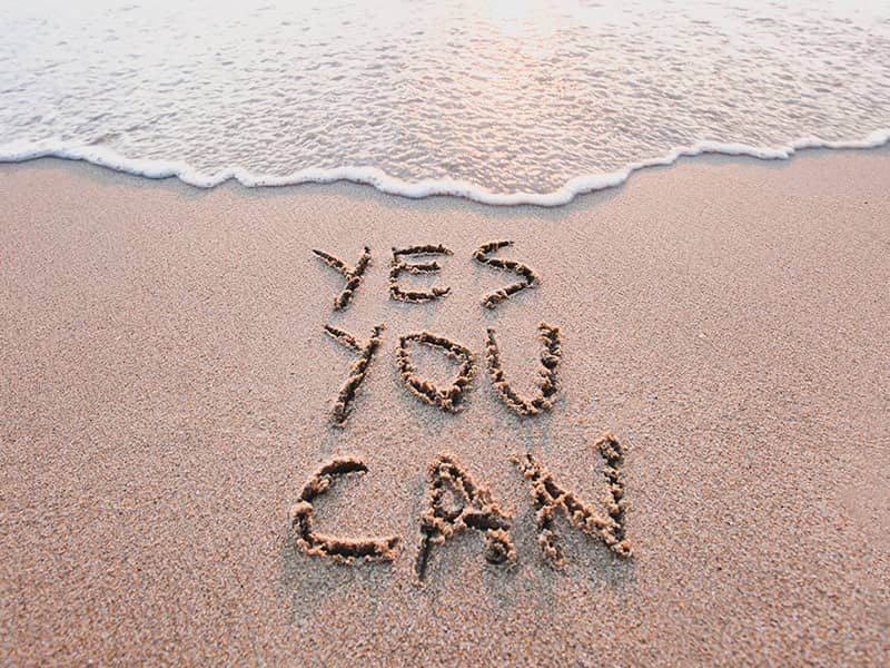 yes you can in sand