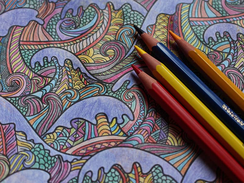 The Power Of Therapeutic Coloring Books Adult Coloring Books Art