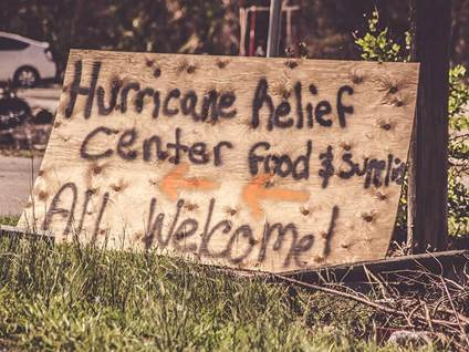 hurricane, sign