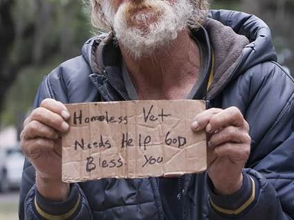 homeless, veteran