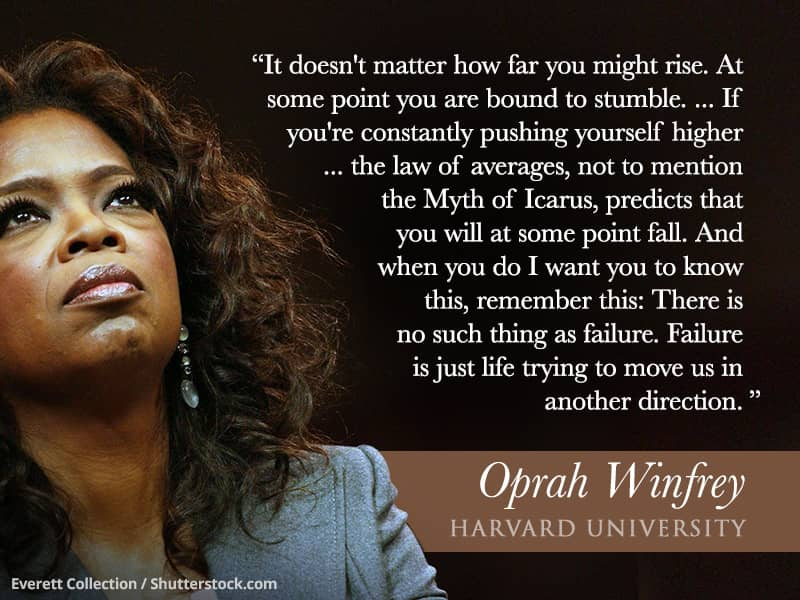 Weu0027ve Collected Seven Of The Most Inspiring Quotes From Some Of The Best  Comment Speeches That You Should Know. Oprah Winfrey