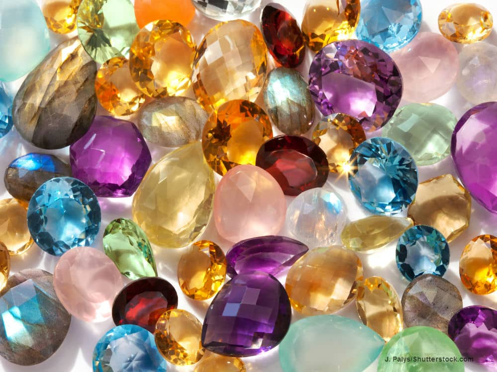 Assorted Birthstones