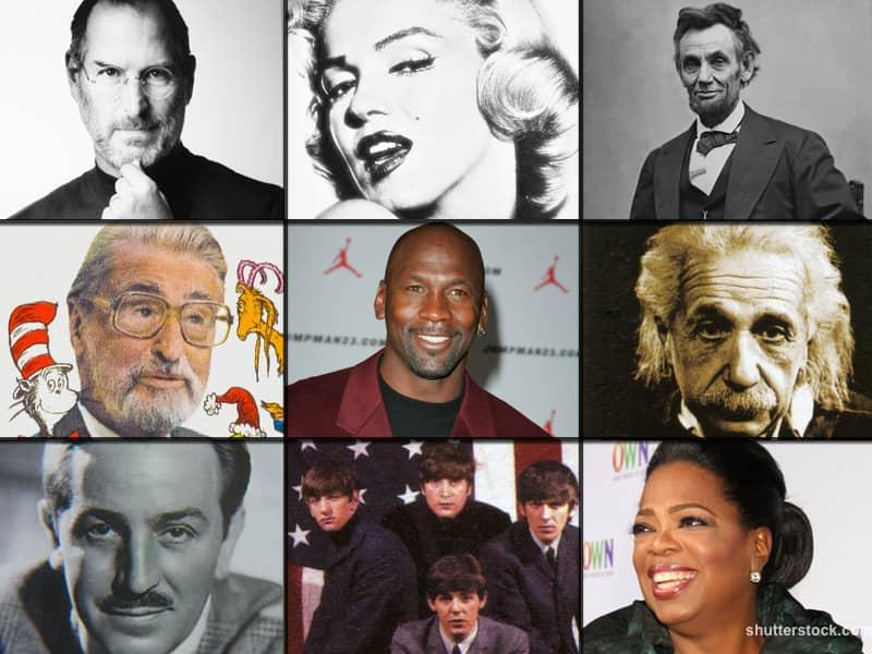 Famous Failures Collage