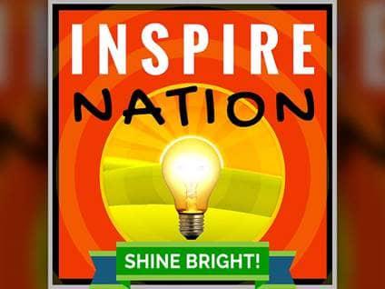 Inspire Nation light bulb logo