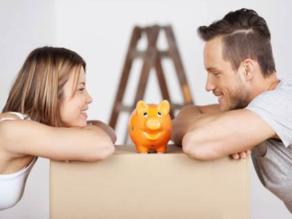 couple piggy bank