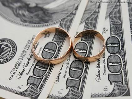 marriage money