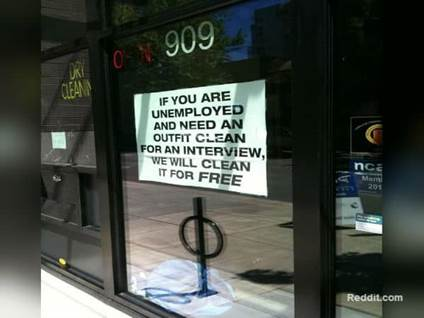 Dry Cleaners for Unemployed