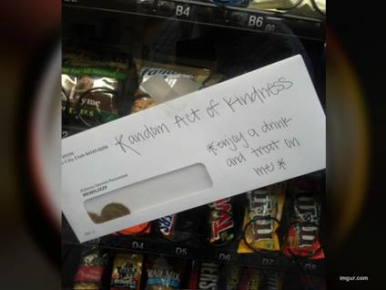Money Snack Machine