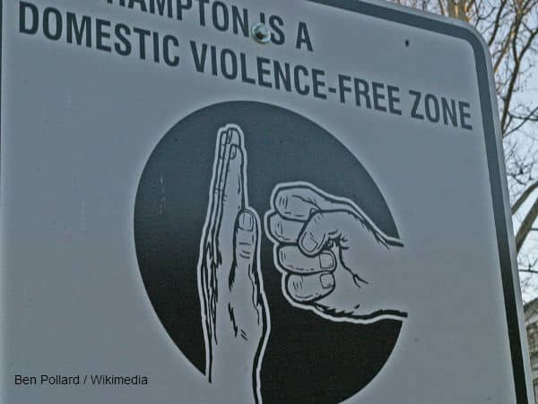 Domestic Violence Sign