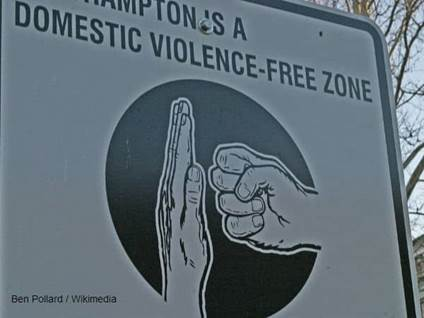 Domestic Violence Sign