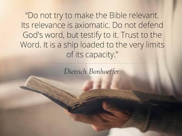 Bonhoeffer Quotes Interesting 48 Wise Quotes From Dietrich Bonhoeffer Beliefnet