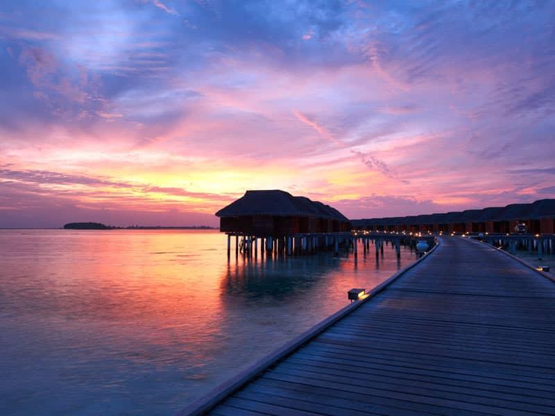 Scenic jetty