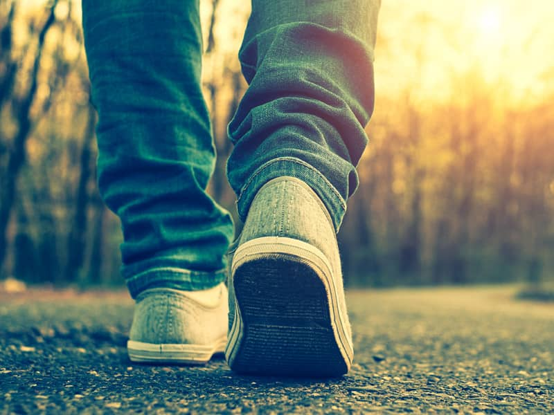 Feet Person Walking