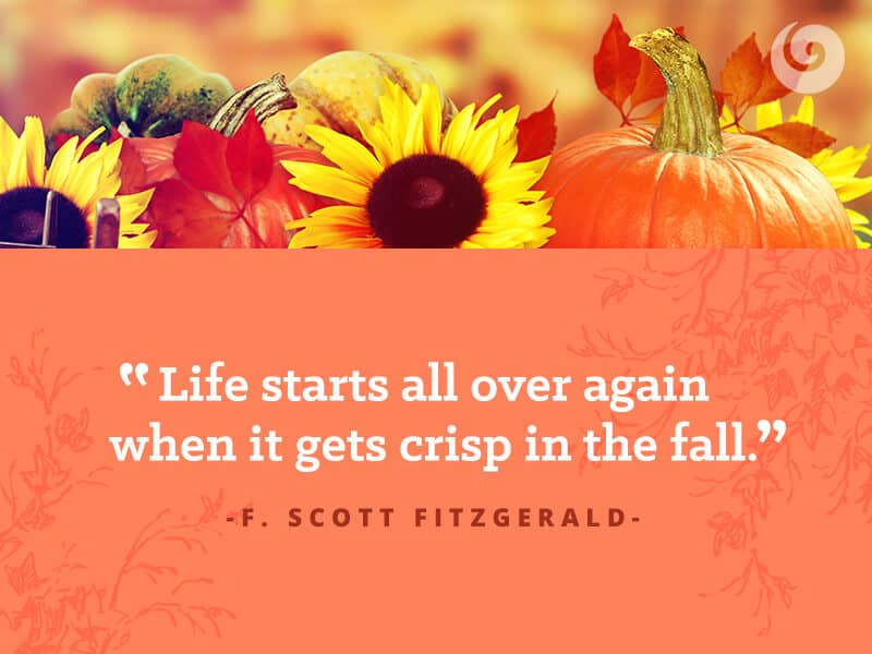 Exceptional Fall Quote