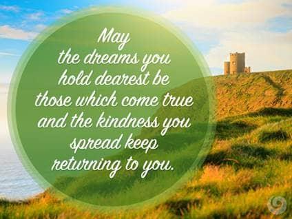 Irish Quotes About Friendship Best 7 Irish Blessings For Stpatrick's Day  Beliefnet  Beliefnet