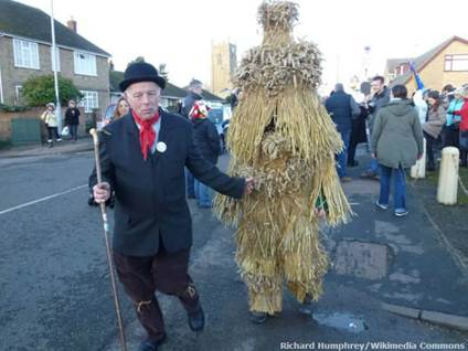 Straw Bear Day