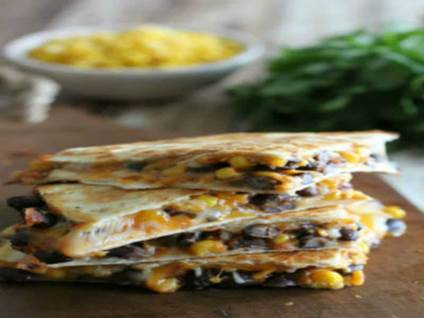 corn bb quesadilla