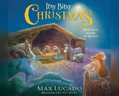 Its Bitsy Christmas - Book