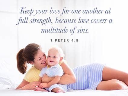Encouraging Scripture for Moms