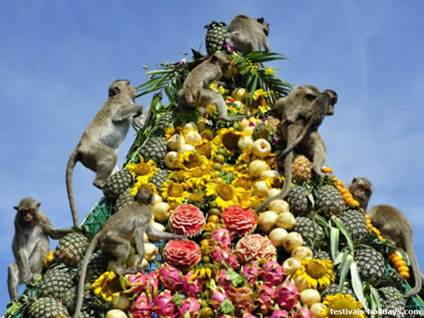 Monkey Buffet Festival