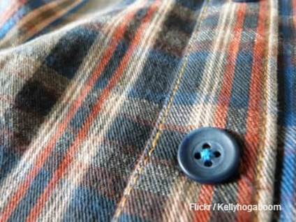 Button on a Shirt