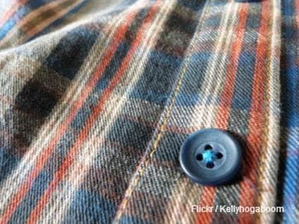 Button on a Shirt