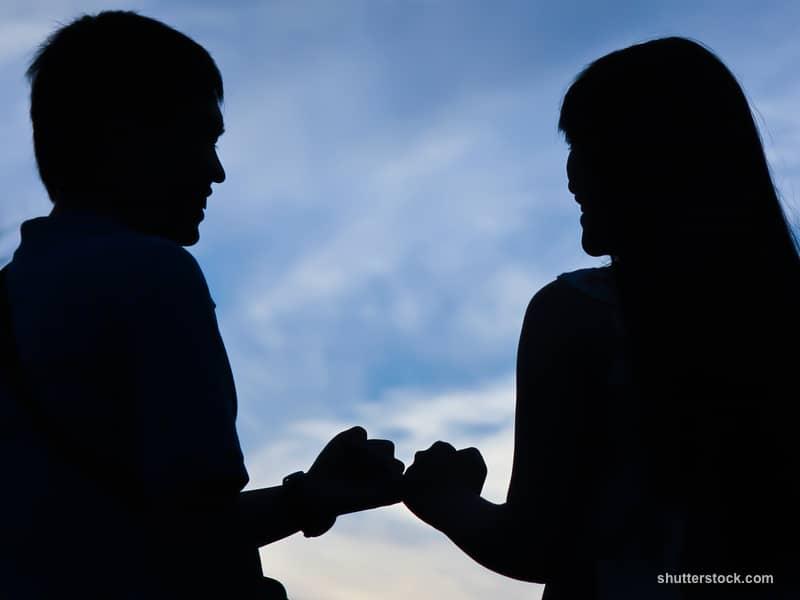 Couple Friends Fists