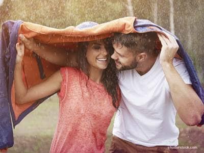 Couple Rain