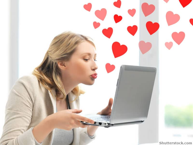 online, dating, love