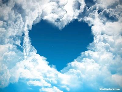 clouds heart