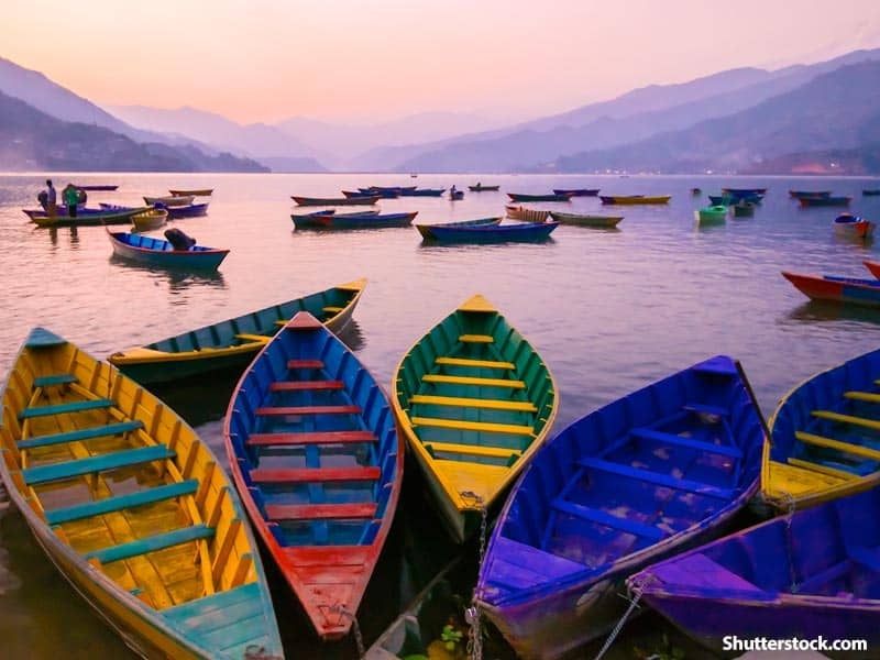 nature boats lake